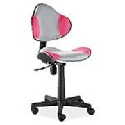 Кресло компьютерное Signal Q-G2 (розово-серый) фото