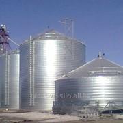 Силос металлический, зернохранилище, элеватор под ключ фото