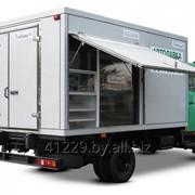 Автомобиль-фургон для выездной торговли ЛЮБАВА АФТ 5301 фото