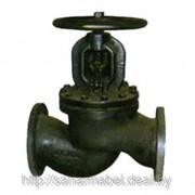 Клапан (вентиль) чугунный фланцевый 15ч14п Ру16 Ду80 фото