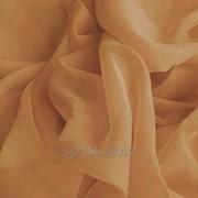 Шифон для декора однотонный, цвет кремовый, 3 метра ширина фото