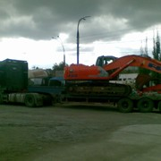 Tral 40tn.Transportare mecanizme, excavatoare. фото