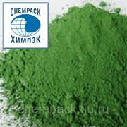 Пигмент зеленый железоокисный 5605, окись железа, оксид железа. Мешок фото