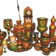 Роспись на сувенирно-подарочных изделиях фото