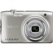 Цифровой фотоаппарат Nikon Coolpix A100 Silver (VNA970E1) фото