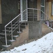 Лестницы входные фото