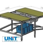 Стол для полуфабрикатов на 6 ящиков UNIT фото
