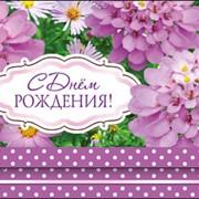 Открытка С Днем Рождения, ДН-010 фото