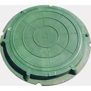 Люк полимерно-композитный 1,5 т (зеленый) фото