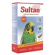 Корм СУЛТАН для попугаев 500г (полноценная трапеза) фото