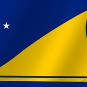 Флаг национальный Токелау (Новая Зеландия) фото