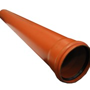 Труба канализационная 150*2000 -внешняя фото