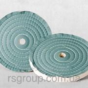 Круг полировочный 150x40~50x32(6)mm Бязевый (тканевый) фото