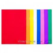 Папка-уголок A4, economix, цвета ассорти, 180 mk. E31153 фото