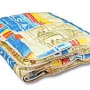 Одеяло из овечьей шерсти Комфорт полутораспальное легкое фото