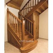 Деревянные лестницы из массива фото
