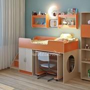 Детская комната Легенда 5 венге светлый/оранж фото