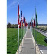Флаговые композиции фото