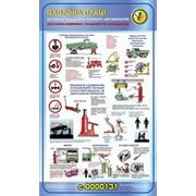 Стенд по охране труда и технике безопасности Ремонт автомобиля фото