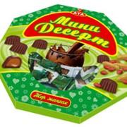 Конфеты Мини Десерт с арахисовой начинкой фото