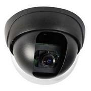 """Камера для видеонаблюдения CCD/CMOS color camera SD881R, 1.3"""", system: PAL/NTSC, sensing area 4.9mm, (купольная), black фото"""