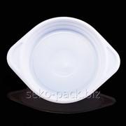 Тарелка однораз D150 (100) глубокая 350мл фото