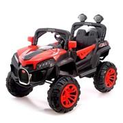 Электромобиль «Багги», 2 мотора, цвет красный фото