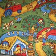 Детский ковролин фото