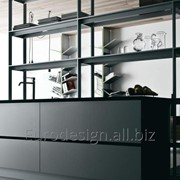 Современная кухня Riciclantica Laminato , Alluminio Rigato фото