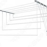 Сушилка потолочная для белья «Лиана». Материал крепления: металл фото