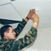Монтаж систем пожаротушения фото