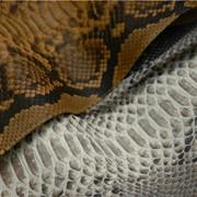 Кожа питона, экзотическая кожа, кожа натуральная фото