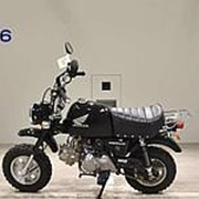Мопед мокик Honda Monkey Gorilla рама AB27 гв 2007 задний багажник пробег 380 км черный фото