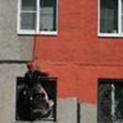 Покраска фасадов сооружений фото