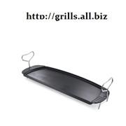 Чугунная сковорода для грилей Q120 и Q140 фото