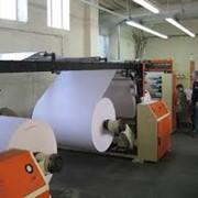 Резка рулонов бумаги фото