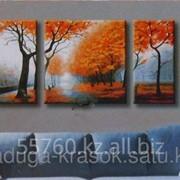 Картина по номерам Осень фото