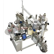 Автомат этикетировочный для нанесения самоклеящихся этикеток и контрэтикеток на вертикальные поверхности плоской и овальной тары СК-010-2П фото
