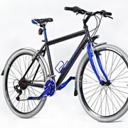 Трековый велосипед MASTERTEH RED BLUE DEGANO фото