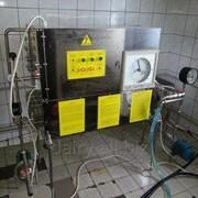 Пастеризатор молока инфракрасный для пакетирования или реализации пастеризованного молока из ёмкости 1 т/ч УЗМ-1,0 фото