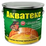 Защитно-декоративное покрытие для древесины АКВАТЕКС фото