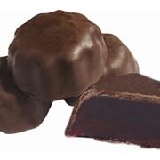 Мармелад формовой в шоколадной глазури фото