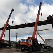 Демонтаж кранов мостового типа, кран-балок, тельферов фото