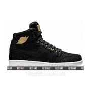 Кроссовки Nike Air Jordan 1 Pinnacle Black арт. 23288 фото