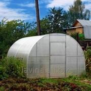 Теплица Славянка, длина 10000 мм, поликарбонат 4 мм, 6 лет заводской гарантии фото