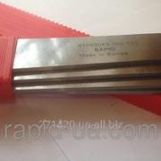 Строгальный фуговальный нож с твердосплавной напайкой 800*35*3 Tigra Germany HW80035 фото