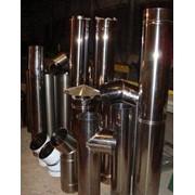 Изготовление стальных воздуховодов, газоходов, дымовых труб фото