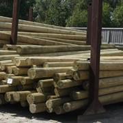 Деревянные опоры ЛЭП фото