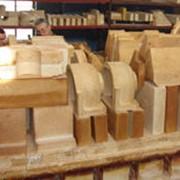 Изделия огнеупорные керамические для питателя стекломассы. фото