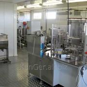 Комплект оборудования для производства плавленого сыра, производительность 2000 кг/смену фото